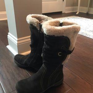 BareTraps suede and fur boots